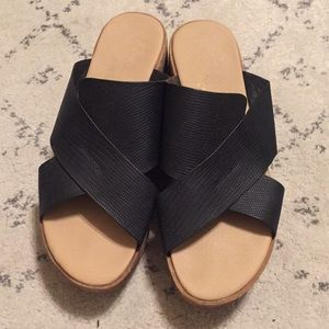 Coconuts by Matisse black sandals